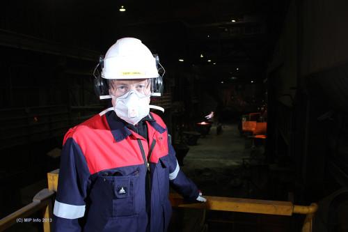 Adm. dir. Bjørn Ugedal ved Glencore Manganese Norway AS