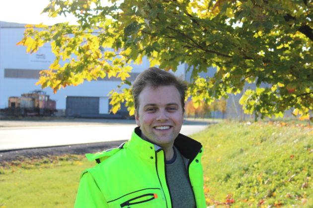 Jeppe Strømseng gleder seg til resten av traineeperioden