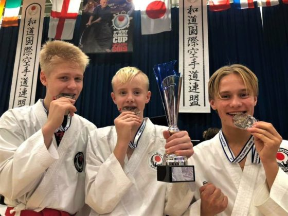 Det ble mange medaljer for Rana Karateklubb under 9th WIKF Global Cup i England.