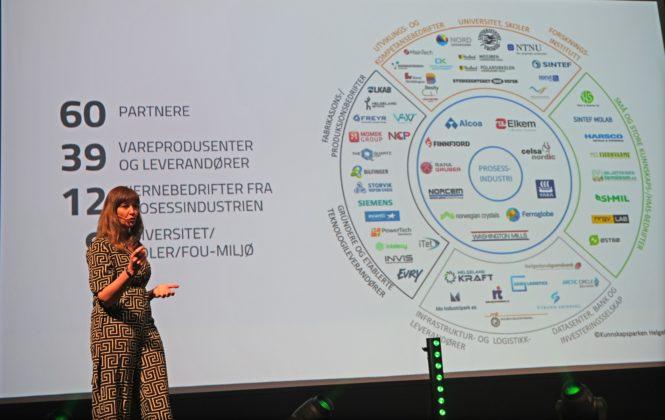 Monica Paulsen fra Arctic Cluster ga eksempler på hvordan samarbeid skaper nye muligheter.