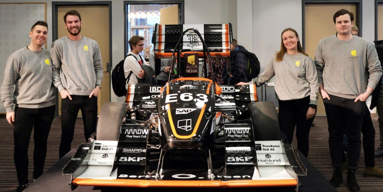 Revolve NTNU team viste frem sin racerbil under årets Gallaria.