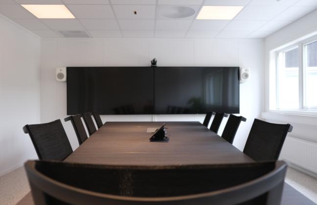 Norconsult sitt nye møterom.