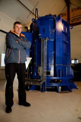 Rennende vann gir klingende mynt for Minikraft AS og Geir Magnor Olsen.