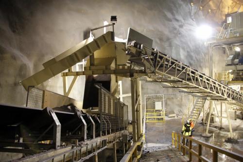 Det underjordiske gruveanlegget til Rana Gruber er topp moderne og bygget for langsiktig utvinning. Gode transportvilkår vil være svært viktig for langsiktig drift for bedrift og lokalsamfunn.