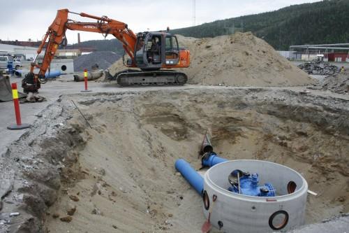 Det gjøres det tiltak på vann- og avløpsnettet for å sikre tilstrekkelig kapasitet og driftssikkerhet.