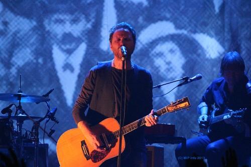 CC Cowboys, og vokalist Magnus Grønneberg på Smelteverket.