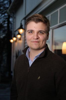 Fredrick Larsen (25), student i København, var på ViVilHeimtreffet.