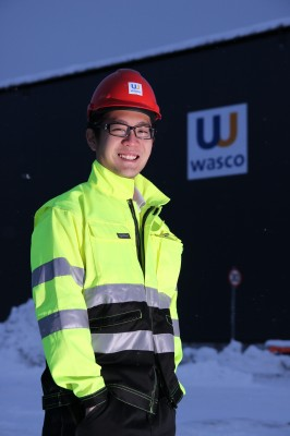 Adrian Goh Wei Leung jobber som Project Engineer ved Wasco Coatings Norway AS.