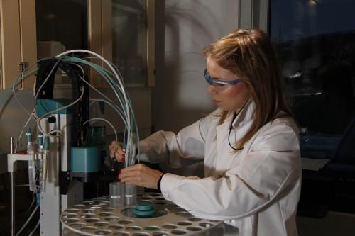 Anja Gull, avdelingsingeniør ved Molab AS.