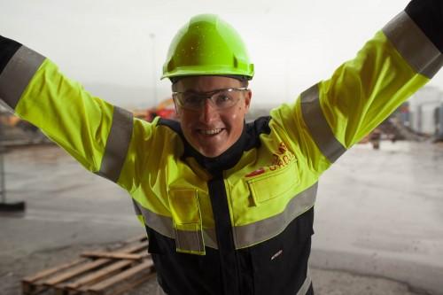 Gøran Nerdal, divisjonsleder for byggdivisjonen i Momek Group AS.