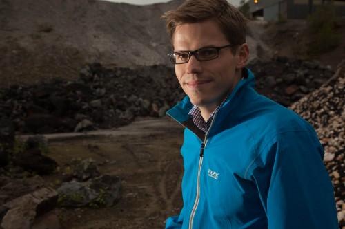 Hans Petter Nyvik er forretningsutvikler ved Inkubator Helgeland AS.