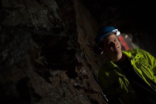 Kristoffer Kristensen, maskinfører ved Miljøteknikk Terrateam AS.