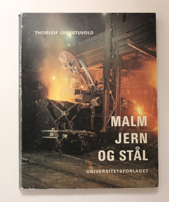 Malm, jern og stål, skrevet av Thorleif Larsstuvold, ble flittig brukt ved opplæringsavdelingen.