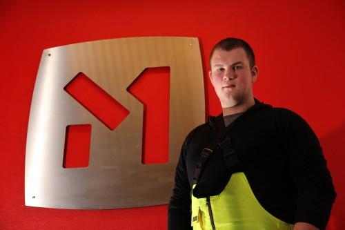 Martin Thomassen, industrimekaniker i Momek Services AS.