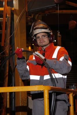 Mats Trulsen, metallformer ved Celsa Armeringsstål AS, valseverket.