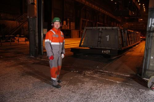 Petter Venes Skatland, personal- og HMS-sjef ved Celsa Armeringsstål AS.