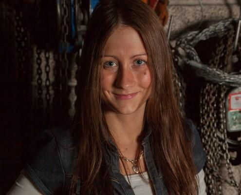 Tine Lorentzen, konmedarbeider i Momek Support AS