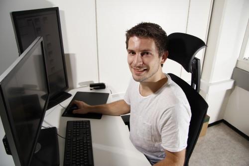 Torstein Myhre er ansatt som trainee ved TechTeam AS.