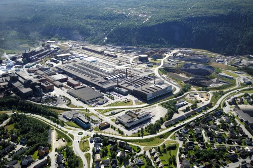 Mo Industripark, sett fra vest-nordvest