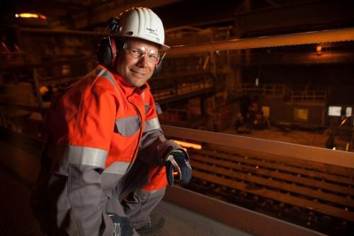 Eirik Bjørkmo, innkjøpssjef ved Celsa Armeringsstål AS.