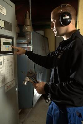 Andreas Morberg er prosesstekniker ved Mo Industripark AS, avdeling MIP Energi
