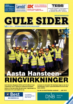 Hovedtema i Gule Sider nr. 1 i 2014 er ringvirkninger av Aasta Hansteen-utbyggingen.