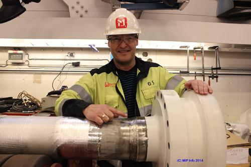 Avdelingsleder Geir Steinbakk