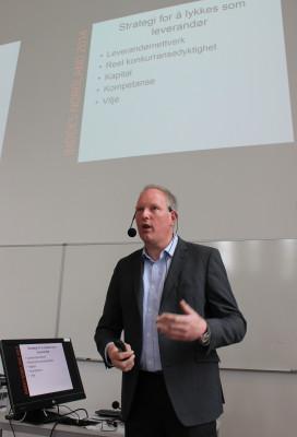 Det er optimistiske utsikter for økonomien i Nordland, fortalte Erlend Bullvåg ved Handelshøgskolen, Universitetet i Nordland, på næringstreffet 17. juni.