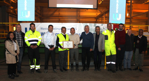 Sentrale aktører ved HMS-dageen ved Wasco Coatings Norway AS.