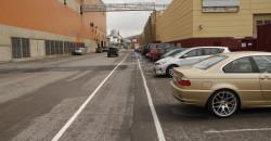 Det er nå utført merking av gang- og sykkelvei i Verkstedløypa.