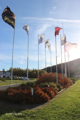 Flaggborg ved Hovedporten