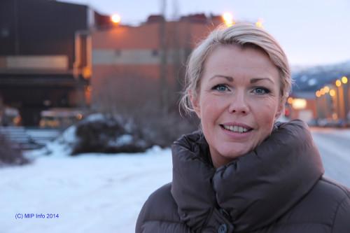 Christin Kristoffersen, lokalstyreleder på Svalbard, er ny i styret til Mo Industripark AS.