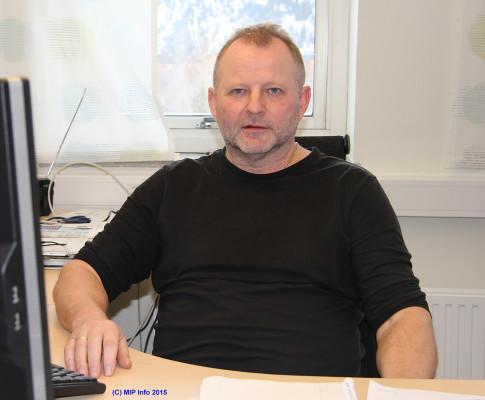 Dag Storholm er prosjektleder for initiativet for energisparing ved Mo Industripark AS.