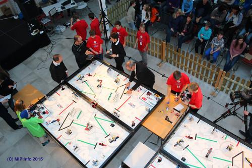 Bildet er fra den regionale finalen i 2014, ved Campus Helgeland.