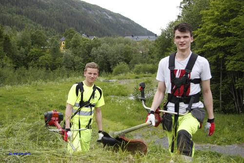 Tore Vassdal Evensen og Einar Skoglund.