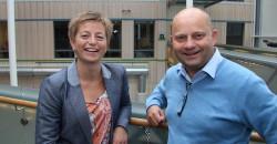 Kathrine Næss, verksdirektør ved Alcoa, Mosjøen, og Arve Ulriksen, adm. dir. i Mo Industripark, understreket begge betydningen som den kraftforedlende industrien har for verdiskaping og sysselsetting på Helgeland.