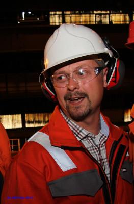 Lars Frøysa, hovedtillitsvalgt Celsa Armeringstål, Mo i Rana