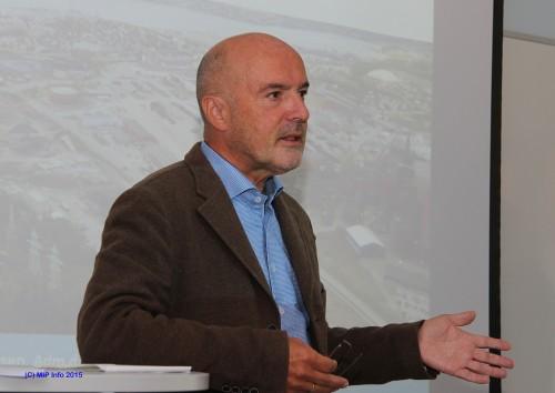 Ivar Kristiansen, fra NHO Nordlands valgmøte i Mo i Rana i september 2015.