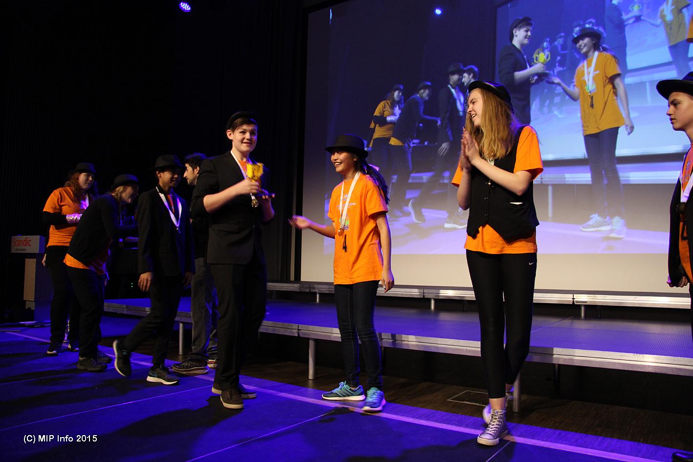FIRST LEGO Leauge Champion 2015: Austbø LegoMafia