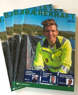 MIP Magasin 2016 - Bærekraft - tilgjengelig som pdf og i trykt utgave.