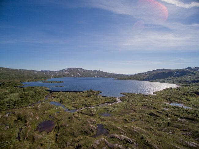 Magasinet ved Fisklausvann er det øverste anlegget i vannsystemet.